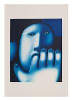 Oleg Tselkov, Lithografie, signiert und nummeriert.