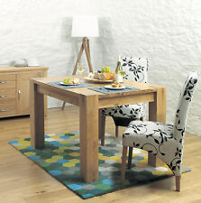 Oak Rectangle Fixed Contemporary Dining Tables