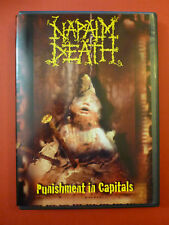 Napalm Death Punishment in Capitals DVD
