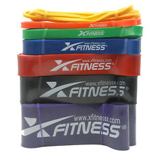 Heavy Duty Resistance Bands Set 7 Loop for Gym Exercise Pull up Fitness Workout