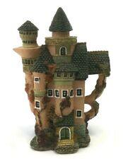 Castle Tea Pot Kettle Cathedral Mythical Fantasy Art Ym 1995 Figurine Miniature