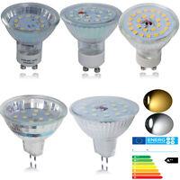10x LED GU10/MR16 LED 3W 5W 7W WARMWEIß/KALTWEIß LAMPE BIRNE STRAHLER LICHT SPOT
