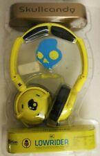 Skullcandy Lowrider yellow in-Line Mic 40 mm Headphones