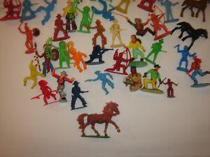 Aufstellfiguren Wild West Indianer Cowboys  Konvolut Westernfiguren Sammlung