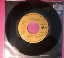 "Patty Pravo - Pensiero Stupendo /Stefano Rosso Io Odio chi - 45 GIRI JUKE BOX 7"""