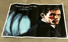 Gattaca Movie canvas banner film poster space sign Fate inspirational destiny A9