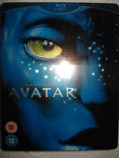 AVATAR UK STEELBOOK + BOOK EXCLUSIVE BLU-RAY OOP RARE NEW SEALED
