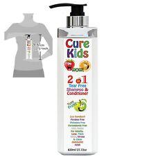 Empêche & Débarrasser Poux Shampooing après Naturel Traitement Enfants Bio de