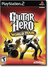 Sony PS2 Guitar Hero World Tour Video GAME DISC ONLY playstation-2 music play