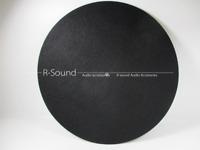"12"" LP Vinyl turntable record wool pad Phonograp antistatic flat soft mat"