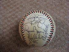 2000 American League All-Star Team Signed Baseball Mariano Rivera Torre JSA