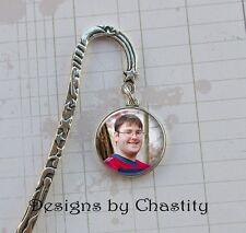 Double Side Bookmark Custom Photo Keepsake Personalized Picture Charm I Love You