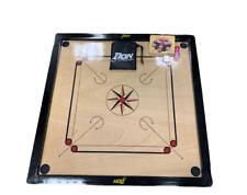ND Carrom Board - Coins, Striker & 33inch x 33inch  Rosewood Board in Carrom Set