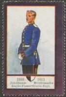 Reklamemarke Garde-Fussartillerie-Regiment - 379340
