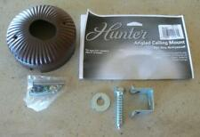 "Hunter Fan - Angled Ceiling Mount - Brown - Model 22170 - For 3/4"" Downrod"