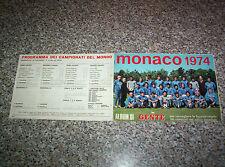 ALBUM MONACO 1974 GENTE CON 270 FIGURINE TIPO CALCIATORI PANINI EDIS MIRA RELI