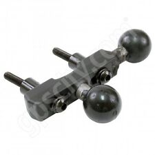 "RAM Mount Motorcycle Aluminum Handle Base with Double 1"" B-Ball RAM-B-309-6U"