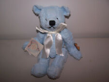 "Mill Mountain From Grandma's Heart 12"" Chenille Blue Jointed Bear Grace"