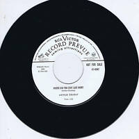 ARTHUR CRUDUP - WHERE DID YOU STAY LAST NIGHT / KEEP ON DRINKIN' - BLUES BOPPERS