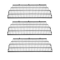 Suncast Vertical Storage Shed Organization Wire Shelf Rack Shelving (3 Pack)