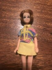 Vintage TOPPER DAWN Doll JESSICA Features Cute Short Blond Hair Dress And Shoes