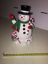 Vintage Frosty The Snowman Ceramic Figure 8'