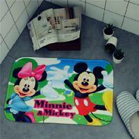 Mickey minnie mouse Door Mats Floor Mat kid seat pad slip Mat cute rug
