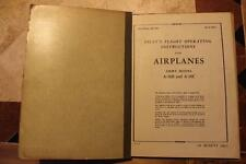 ORIGINAL 1945 AAF DOUGLAS A-26B,C INVADER PILOTS FLIGHT MANUAL AIRCRAFT HANDBOOK