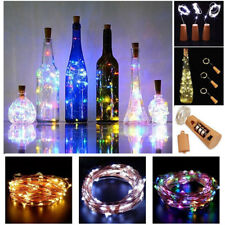 LED Cork with 20 Lights on a String Bottle Stopper, Lamp, Light, Wedding, Events