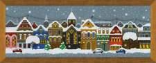 "Counted Cross Stitch Kit RIOLIS - ""Christmas City"""