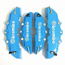4x Caches étriers de freins 3D Universel disque TOUTES MARQUES *BLEU*