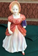 PARAGON MISS PAMELA  FIGURINE RED   MADE IN ENGLAND  5""