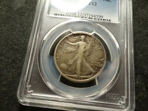 1916-S PCGS F 12 Walking Liberty Half Dollar PQ Impossible SLABZ T2X