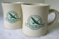 Eddie Bauer Collectible Mugs Heavy weight - Lot of 2