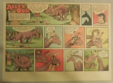 Alley Oop Sunday by VT Hamlin from 1/4/1953 Half Page Size