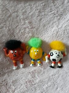 Funny Boys- Balls Set of 3Vintage Collectable Refrigerator/Toll Box Magnets