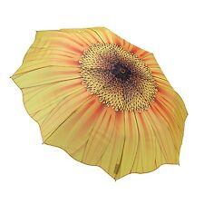 Galleria Sunflower Bloom Flower Floral Automatic Open Close Folding Umbrella