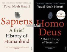 Sapiens & Homo Deus 2 Book Set by Yuval Noah Harari
