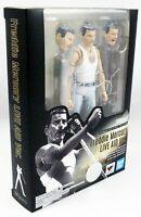 QUEEN Freddie Mercury Live Aid 1985 S.H Figuarts Action Figure Bandai Tamashii
