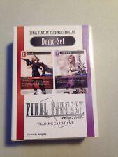 Final Fantasy TCG Demo-Set