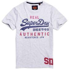 Grigio X-large Superdry M10013pq T-shirt Uomo (ice Marl) (taglia (li5)