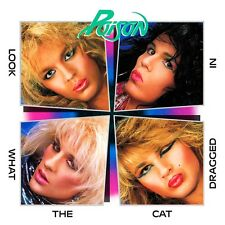 Poison - Looked What The Cat Dragged In Vinyl LP Cover Sticker or Magnet