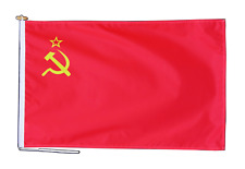 More details for ussr soviet union russia flag with rope and toggle - various sizes