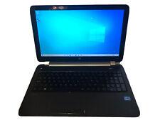 HP Pavilion 15 NoteBook 15 i3-3217U 1.8GHz, 4GB RAM, 450G HDD, Win-10 DTS Sound+