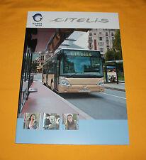 IRISBUS CITELIS 2010 prospectus brochure depliant Prospetto catalog IVECO