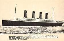 B74/ Ship Postcard Boat TITANIC Sinking Disaster c1940s Reprint Ill-Fated 5