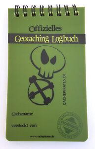 Geocaching wasserfestes Logbuch Allwetter Notizblock Outdoor Logbücher Ringbuch