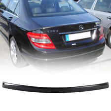 W204 Unpaint ABS V Style Trunk Boot Spoiler Wing For Mercedes BENZ C-Class 4D