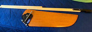 Sunfish Sailboat  Mahogany Rudder Tiller Assembly