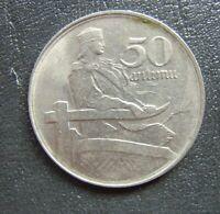 #BC.6-16. LATVIA Lettland 50 SANTIMI 1922